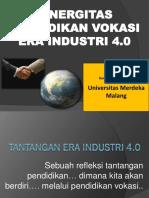 5 Sinergitas Pendidikan Vokasi-Dindik Jatim-10-8-2018 by Unmer.pdf