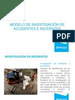 Modelo de Investigación de Accidentes