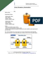 sistema de aguas grises - clorador y declorador