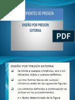 Diseño Mecánico presión externa