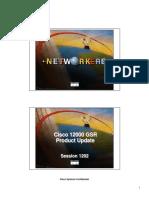 Cisco - GSR Product Update 1202