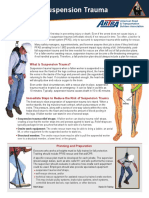 ARTBA Fall Fact Sheet Suspension Trauma