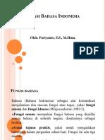 Fungsi dan kedudukan Bahasa Indonesia.ppt