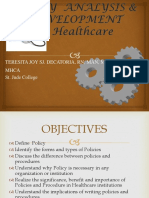 1 Policy Making Overview