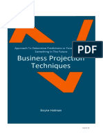 Business Projection Technique