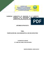 Marco Teorico Del Ecofiltro[1]