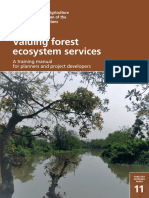 Valuing Forest Ecosystem Service