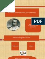 ANTECEDENTES HISTORICOS DEL JUICIO DE AMPARO.ppt