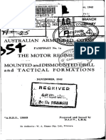 AAC Pam No.1A the Motor Regiment Mounted and Dismounted Drill and Tact Considerations Nov 1942