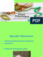 Unit I Nutrition Diet Therapy