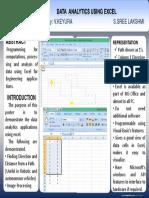 Poster Data Analytics
