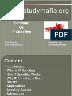 CSE IP Spoofing Ppt