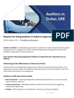 Auditors in Dubai Important Reasons for Hiring _ Approved Auditors in Abu Dhabi, Sharjah UAE
