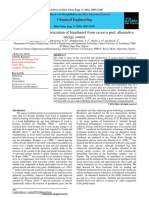 Bioethanol Synthesis methods from Cassava Peel