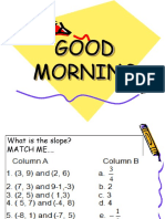 Equation of a Line