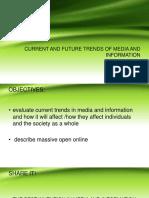 Current Trends  in ICT