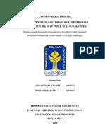 Cover Laporan Kerja Praktik PDF