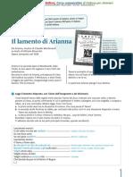 il lamento di Arianna italiano per stranieri