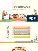 139043 Happy Children PowerPoint Template
