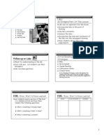 Active Learning Strategies Handout