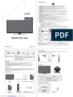 LED TV inst manual