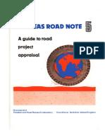 roads note