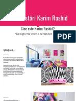 Plan Postări Karim Rashid