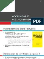 Modernisme Et Postmodernisme