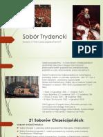 Sobór Trydencki prezentacja