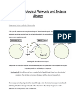 Review of Biological Networks and Systems Biology