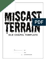 MiscastTerrain OldChurchTemplate v01 A4