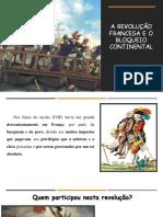 A Revolução Francesa e o Bloqueio Continental