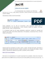 3 - Barra de Herramientas y Barra de Acceso Rápido _ AulaFacil