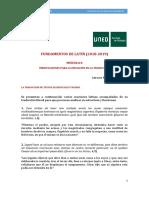 MÓDULO 8 Iniciación a La Traducción (2018-2019)