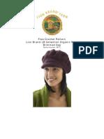 Crochet Pattern Brimmed Cap 80777 6
