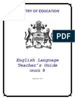 Level 8 - English Teacher Manual
