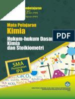 1. SMA Kimia Paket 01 Hkm2 Dasar Kimia Stoikiometri PKB2019 DIKMEN