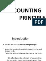 Discounting Principles