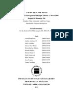 Tugas Resume Buku Pengantar Manajemen