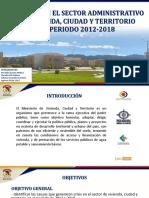 Crisis en El Sector Administrativo Vivienda, Ciudad y Territorio