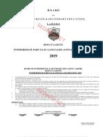 Lahore Board 12th Gazette Result 2019.PDF