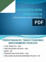 Lokakarya Mini Triwulan III