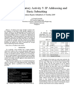 IP Addressing and Basic Subnetting