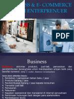 Kuliah.e-business & E- Commerce Dalam Enterprenuer