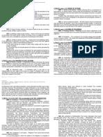 Civ Pro - Midterms - Memory Tasks and Case Doctrines - Ccarellano