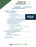 Tema 9 - Números Complejos. Aplicaciones