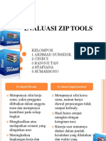 PPT evaluasi zip tools