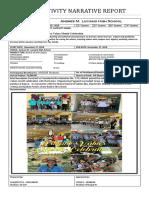NARRATIVE REPORT Filipino Values Month Celebration