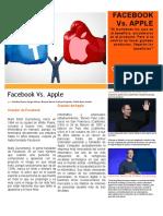 Teoria Organizacional Eje 4 Facebook Vs Apple.docx
