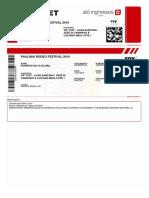 Ticket para dowload